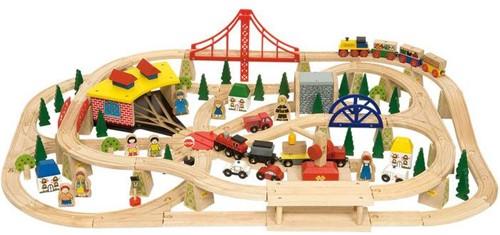 BigJigs Fracht Eisenbahn Set