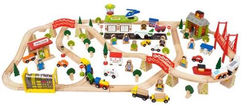 BigJigs Transport Eisenbahn Set