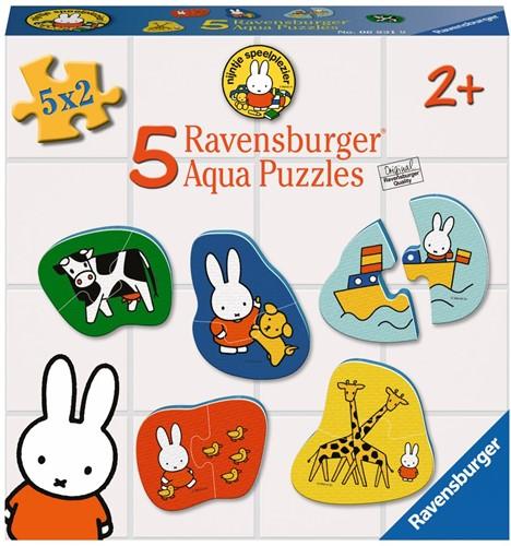Ravensbuger Puzzel NIJ: nijntje aqua puzzel