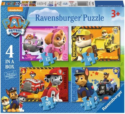 Ravensburger Paw Patrol Puzzlespiel 12 Stück(e)