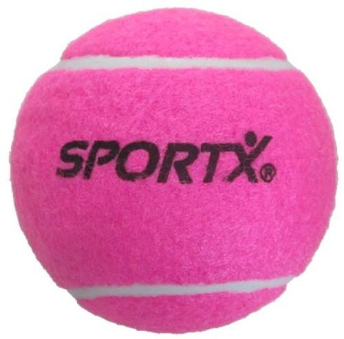SportX Jumbo Tennisball L Rosa