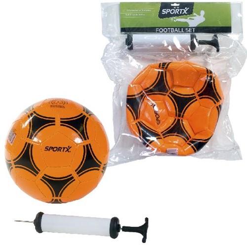 SportX Voetbal + Pomp