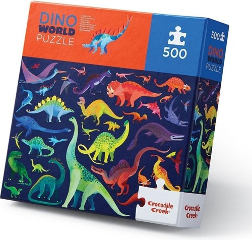 Crocodile Creek 500 pcs Boxed/Dino World