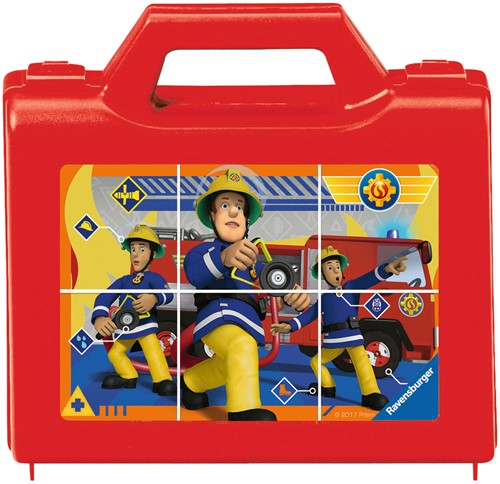 Ravensburger Feuerwehrmann Sam, Sam, der tapfere Feuerwehrmann Block-Puzzle 6 Stück(e)