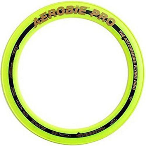 Aerobie Sprint Werpring geel - 25 cm