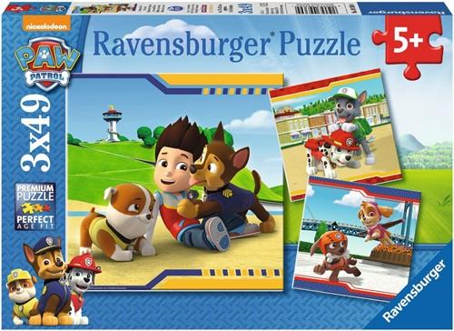 Ravensburger Kinderpuzzle - Paw Patrol, Helden mit Fell