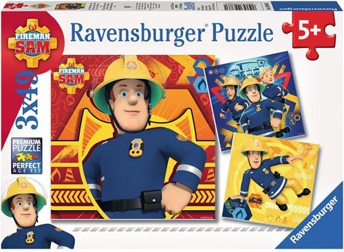 Ravensburger Kinderpuzzle - Feuerwehrmann Sam, Bei Gefahr Sam rufen