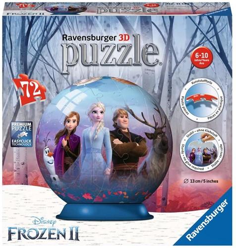 Ravensbuger 3D Puzzles 72 stukjes DFZ: Frozen 2
