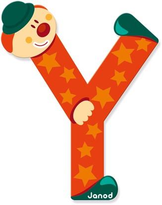 """Buchstabe """"Clown"""" Y"""