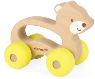 Janod Baby Pop - Duwfiguur beer
