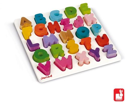 Janod I Wood - puzzel ABC
