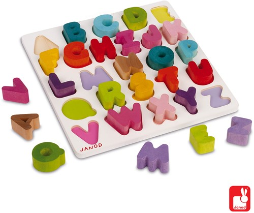 Janod I Wood - puzzel ABC-2