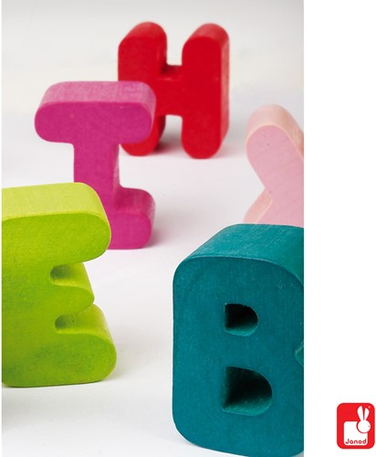 Janod I Wood - puzzel ABC-3