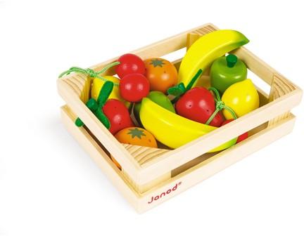 Früchte Sortiment Im Kasten (Inhalt 12 Teile)