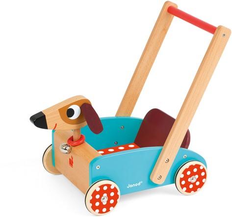 "Holzwagen Hund ""Crazy Doggy"""