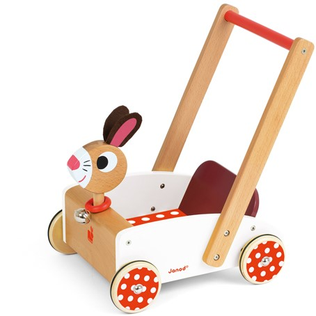 """Holzwagen Hase """"Crazy Rabbit"""""""