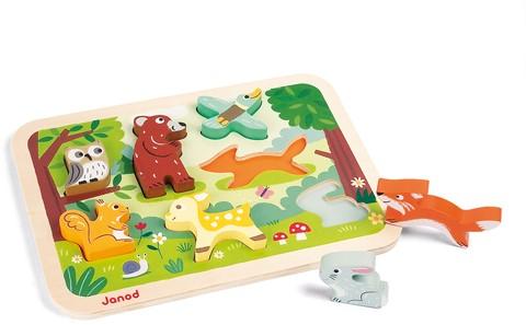 JANOD 07023 Formpuzzle 7 Stück(e)