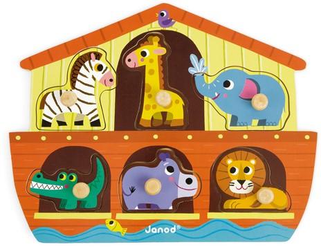 JANOD 07062 Formpuzzle 6 Stück(e)