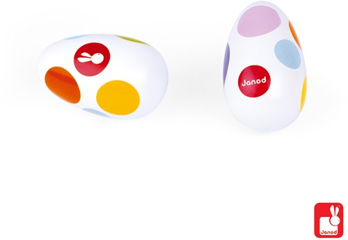 Janod Confetti - Maracas eieren-2