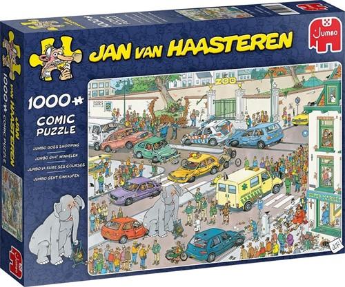 Jumbo puzzel Jan van Haasteren Gaat winkelen - 1000 stukjes
