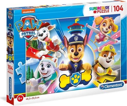 Clementoni puzzel paw patrol 104 st