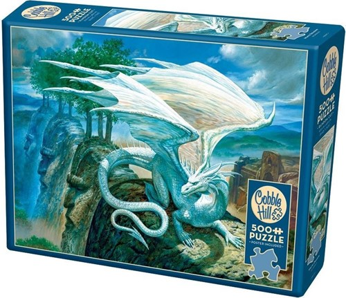Cobble Hill puzzle 500 Teile - White Dragon