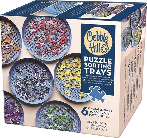 Cobble Hill puzzle - Sorting Trays