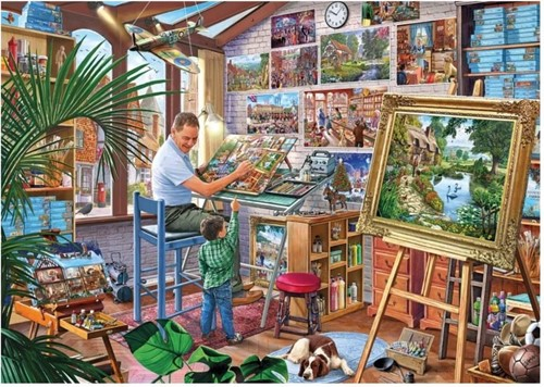 Gibsons Puzzle A Work of Art - 1000 Teile