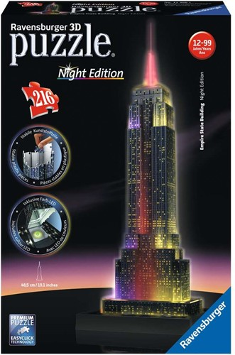 Ravensburger Empire State Building Night Edition