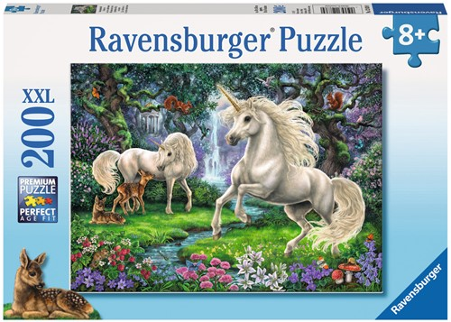 Ravensburger Kinderpuzzle - Geheimnisvolle Einhörner