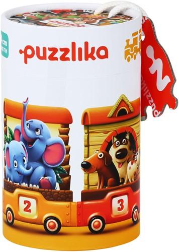"Puzzlika puzzle """"Train"""""