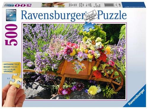 Ravensburger Puzzle - Blumenarrangement - 500 Teile