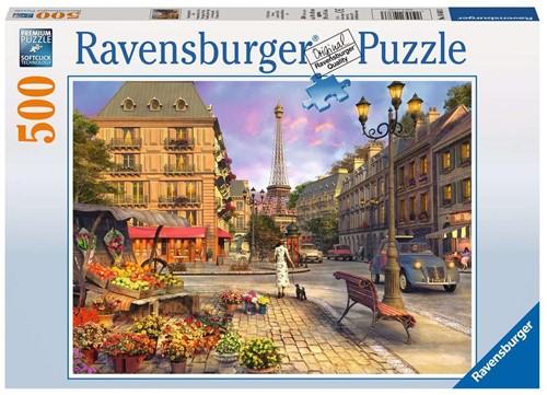 Ravensburger Puzzle - Spaziergang durch Paris - 500 Teile