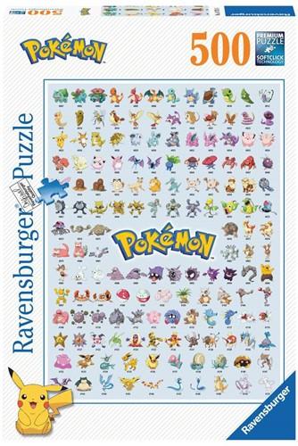 Ravensbuger Puzzel 500 stukjes POK: Pokémon