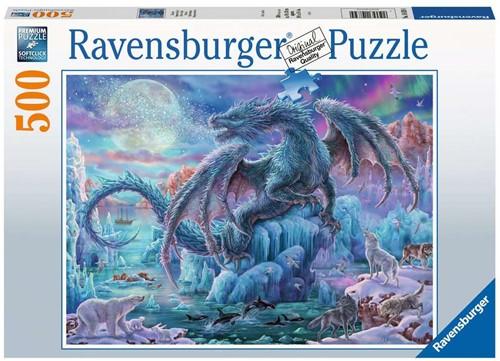 Ravensbuger Puzzel 500 stukjes IJsdraak