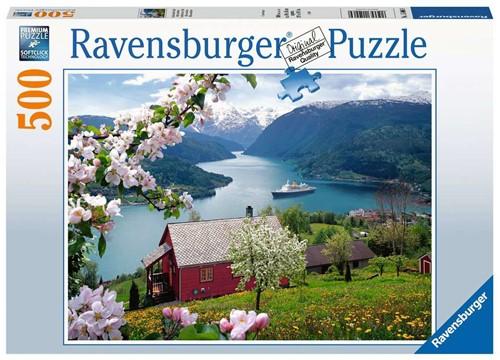 Ravensbuger Puzzel 500 stukjes Scandinavische idylle