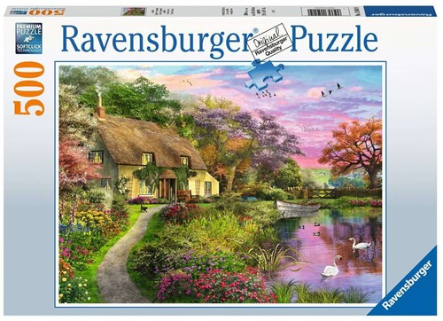 Ravensbuger Puzzel 500 stukjes Landhuis