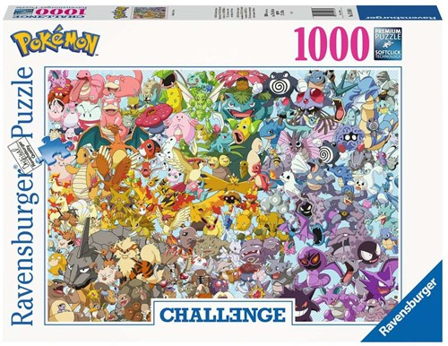 Ravensburger Pokémon Puzzlespiel 1000 Stück(e)