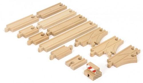 Brio Holz Eisenbahn Schienen BRIO Schienen Starter Pack B 33394