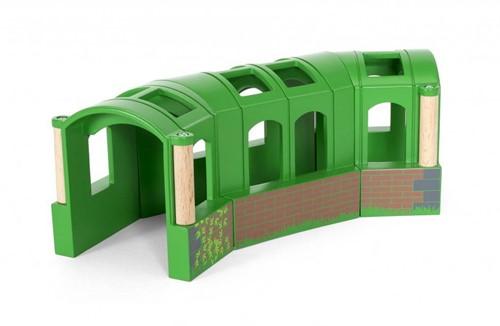 Brio Holz Eisenbahn Zubehör Flexibler Tunnel 33709