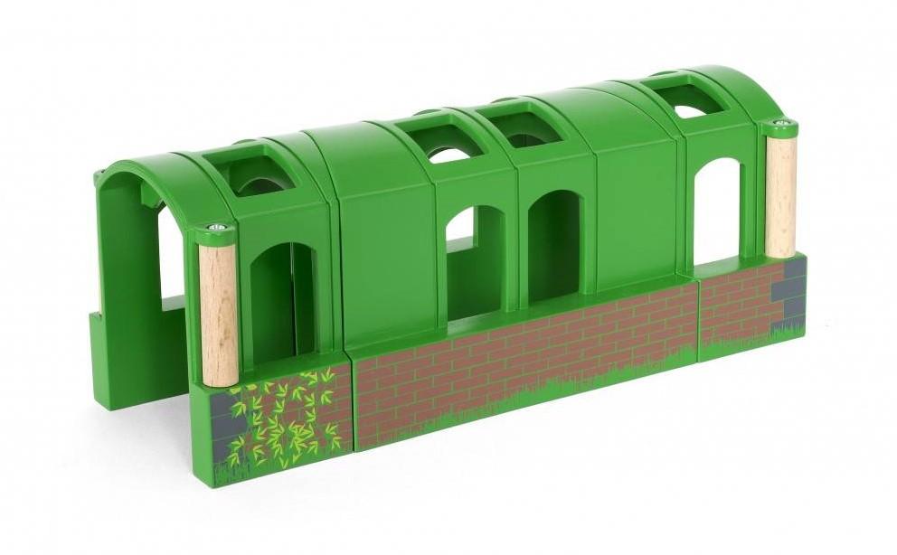 brio holz eisenbahn zubeh r flexibler tunnel 33709. Black Bedroom Furniture Sets. Home Design Ideas
