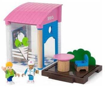 Brio Spielstadt Village Eisdiele 33944