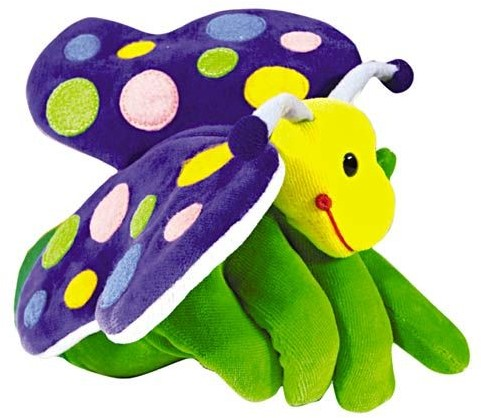 Beleduc  Handpuppe Schmetterling