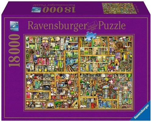 Ravensburger Colin Thompson Bookshelf Bodenpuzzle 18000 Stück(e)