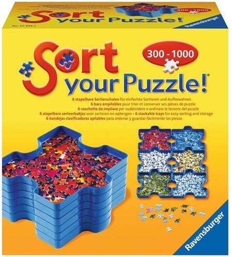 Ravensbuger Puzzel attributen  Sort your puzzle