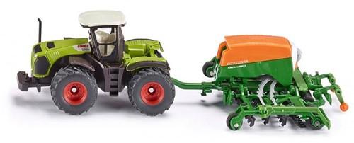 Siku Traktor mit Sämaschine