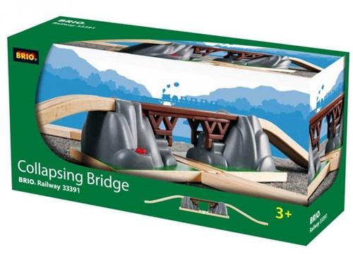 Brio Holz Eisenbahn Zubehör Einsturzbrücke 33391-2