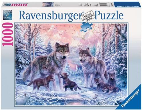 Ravensburger Arctic wolves Puzzlespiel 1000 Stück(e)
