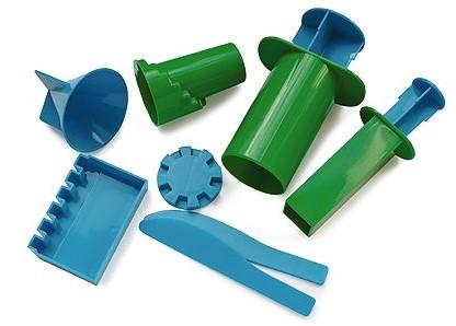Relevant Play zandspeelgoed Kasteelvormen groen blauw
