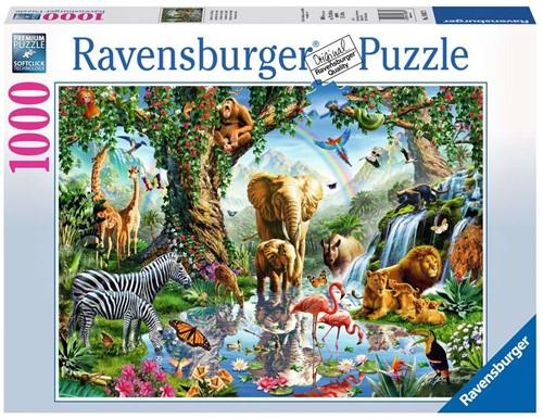 Ravensburger Adventures in the Jungle Puzzlespiel 1000 Stück(e)